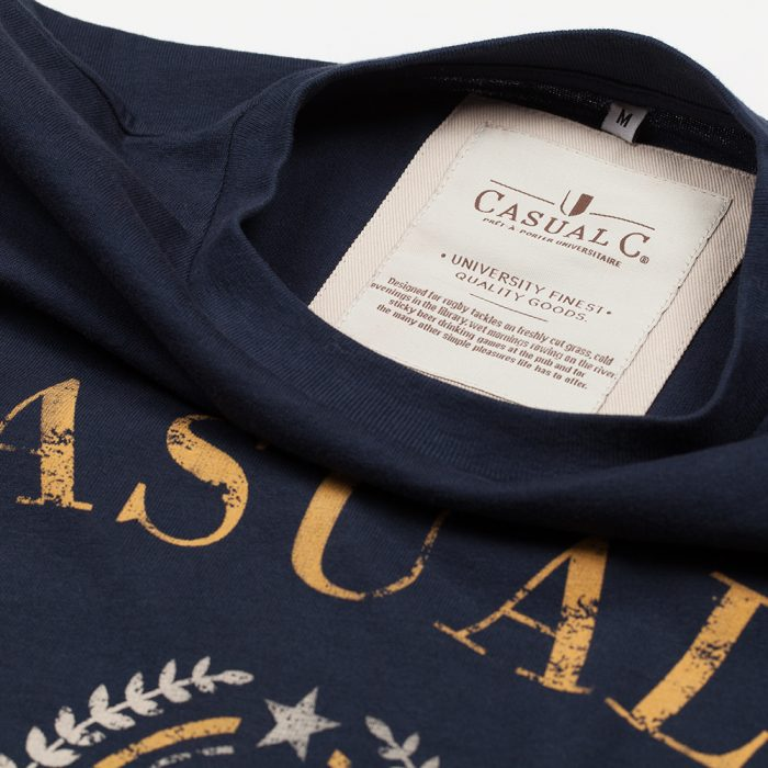 Casual-Tee-personnalisable-Navy-1
