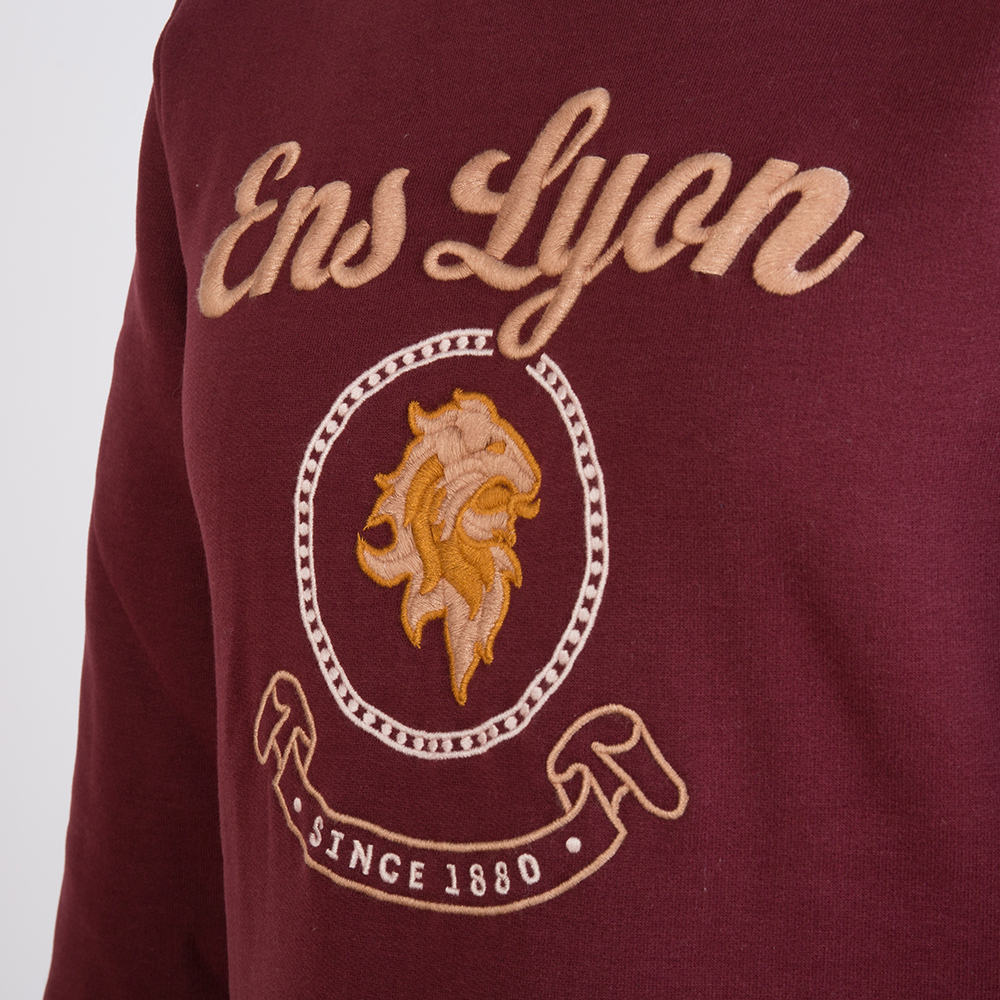 Sweat-col-rond-personnalise-ENS-Lyon-3